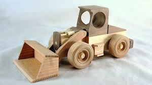 Wooden Toys Plans Free Trucks by Make A Toy Front Loader Free Plans Youtube