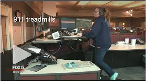 Rent Treadmill Desk Office Fitness In Call Centers