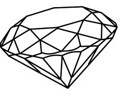 diamond clipart simple diamond drawing pink diamond drawing clipart panda free
