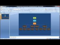 membuat struktur organisasi yang menarik tutorial powerpoint 2007 cara membuat struktur organisasi dengan