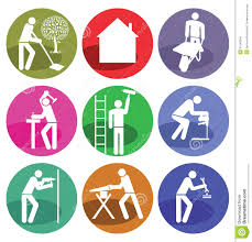 home improvement icons royalty free stock photos image 2299098