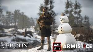 verdun christmas truce dlc supports charity