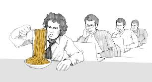 of spaghetti sauce and office buildings or the concept of taste