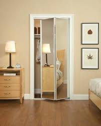 Mirror Closet Doors Home Depot Closet Folding Closet Door Decorations Enchanting Accordion