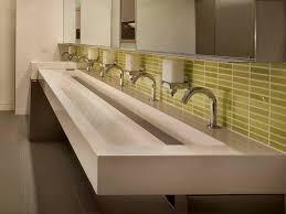 london bathroom trough sink for