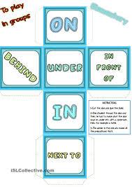 Preposition Practice Worksheets Prepositions Die U2026 Pinteres U2026