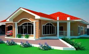 how much to build a 4 bedroom house house plans ghana 3 4 5 6 bedroom house plans in ghana