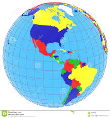 Blank North America Map by Map Of South America Countries And Capitals Map Of South America