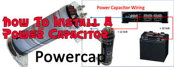 how to install a power capacitor radiodashkits car stereo