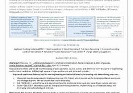hospital recruiter sample resume unique resume object resume sample