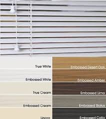 Made To Measure Venetian Blinds Wooden Faux Wood Made To Measure Venetian Blinds 50mm 35mm 11 Colours Ebay
