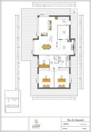 Plan De Maison En Longueur Plan Maison écologique Medium Constructeur Maison Bois Ccmi