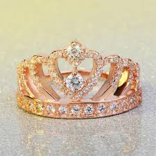 crown diamond rings images April birthstone heart crown diamond ring fantasy jewelry online jpg