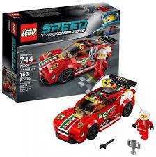 lego ferrari speed champions lego speed champions 75908 pas cher ferrari 458 italia gt2