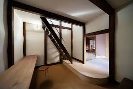 revamp turns traditional japanese house into serene home and