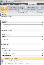 Create Table Of Contents In Word 2013 Windows Get Table Of Contents To Include