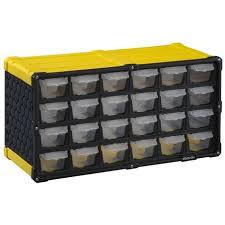 24 Drawer Storage Cabinet by Stack On 24 Drawer Storage Cabinet Walmart Canada