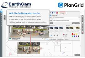 plangrid and earthcam partner to integrate construction camera