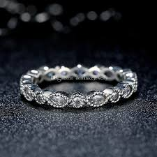 Pandora Wedding Rings by Alluring Brilliant Marquise Pandora Style Round And Oval Eternity