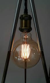 Antique Floor Lamps 70 U0027s Tripod Antique Floor Lamp With Camera Dimmer Id Lights