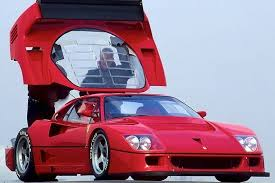 f40 bhp f40 lm anniversary supercar converted to race car