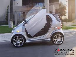 lamborghini smart car smart car vertical lambo door kit 450 model pre 2007 models