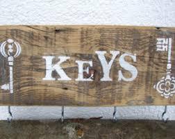 Decorative Key Racks For The Home Wall Key Rack Etsy