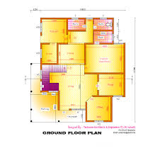 2633 square feet 3 bedroom kerala home design with plan home