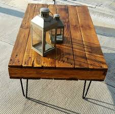 coffee table chestnut pallet coffee table with 2 drawers furniture