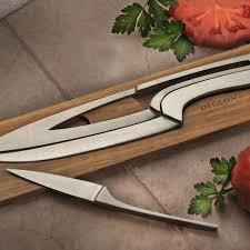 nesting kitchen knives knife set deglon professional 4 knife set