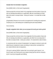 resignation letter template 38 free word pdf documents download