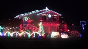 christmas lights houses near me crazy christmas lights house youtube
