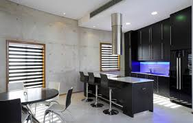 stools stunning kitchen design with blue kitchen island bar