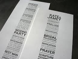 cool wedding programs 80 best wedding programs images on wedding programs