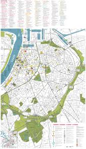 Large Scale Map Maps Of Antwerp Detailed Map Of Antwerpen In English Maps Of