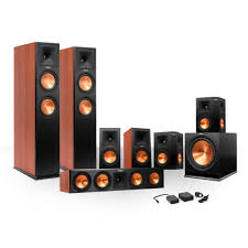 7 1 home theater speakers klipsch 7 1 rp260 premiere speaker bundle w sub u0026 free wireless