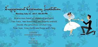 free engagement invitation card invitations