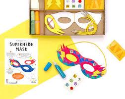 superhero mask etsy