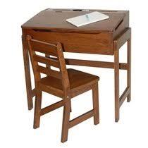 kidkraft desk and chair set alexa kids desk and chair set in walnut reviews birch lane