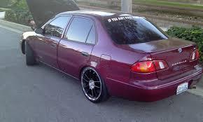 1998 toyota corolla tire size unknown1985 1998 toyota corollave sedan 4d specs photos