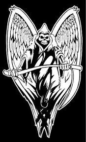 grim reaper wings 2 decal sticker