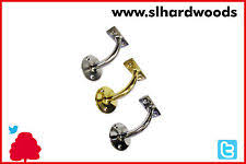 Mopstick Handrail Brackets Brass Handrail Brackets Diy Materials Ebay