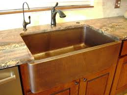 pros and cons of farmhouse sinks copper sink pros and cons