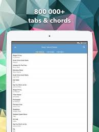 guitar tab pro apk guitar chords and tabs pro apk free audio app