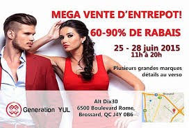 A Mega     To     Off Montreal Warehouse Sale Is Happening This     MTL Blog                                               n