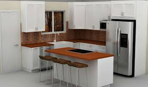 Small Kitchens With Islands For Seating Kitchen Room Backsplash Brick Look Kitchen Island Brown
