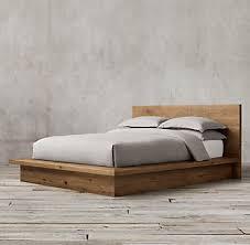 wood beds rh