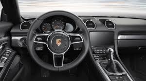 porsche boxster 2017 2017 porsche boxster 718 steering view 10514 cars performance
