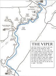Map Alabama Little River Canyon Tourist Map Little River Canyon Alabama
