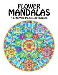 flower mandalas coloring book printable mandala